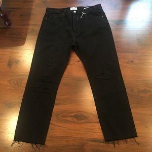 Frame Denim Jeans - Frame Denim LeOriginal Black Denim